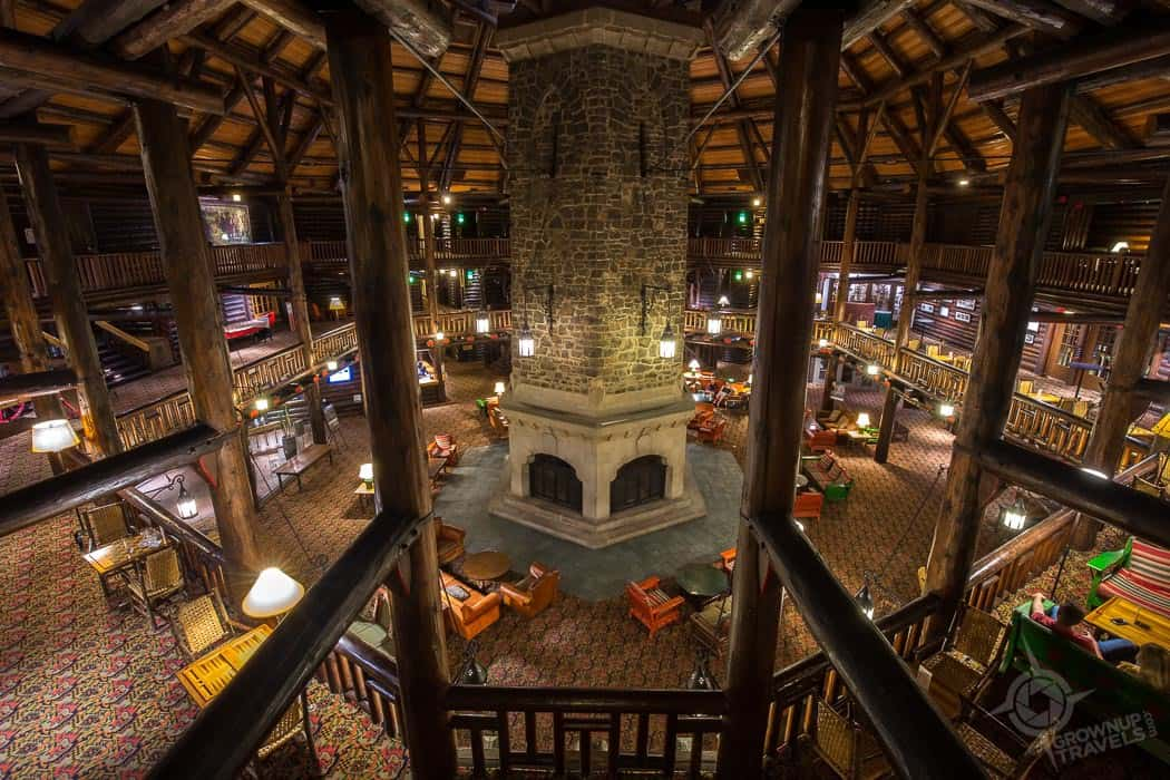 Chateau Montebello rotunda