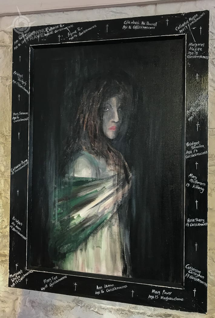 Carrickmacross girl brides painting