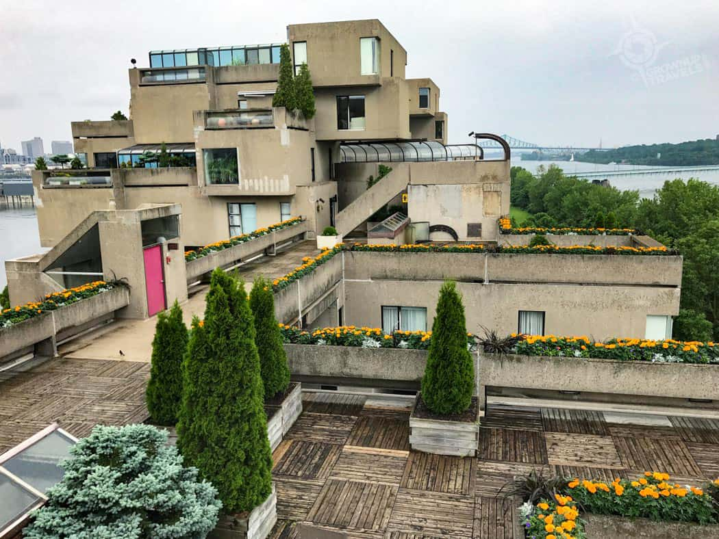 A Tour Of Moshe Safdie S Habitat 67 In Montreal