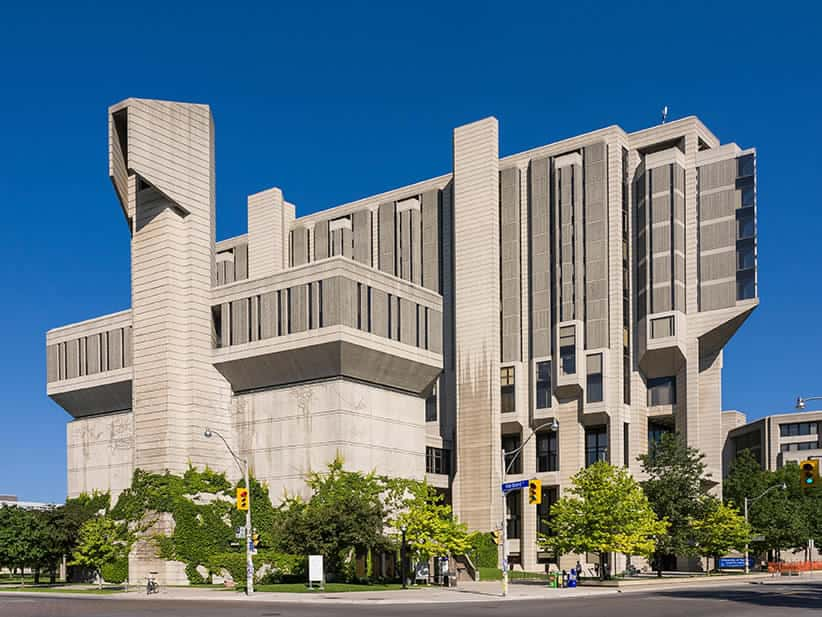 Robarts Library U of Toronto