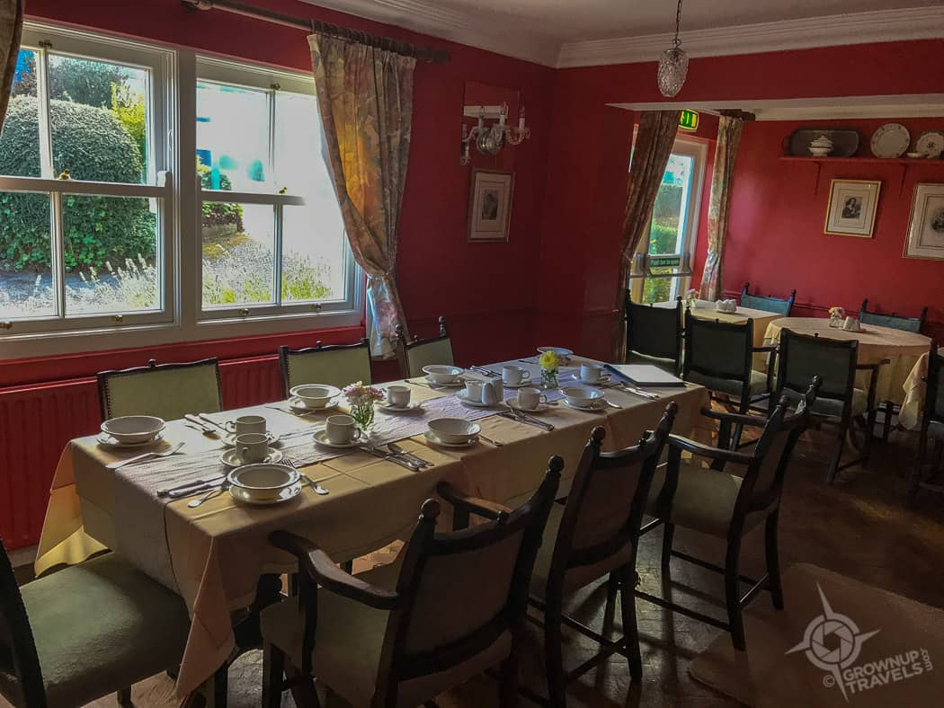 Ballyknocken breakfast room