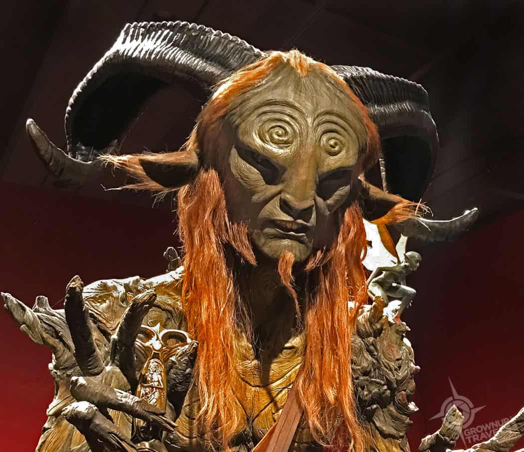 Pans Labyrinth Faun closeup