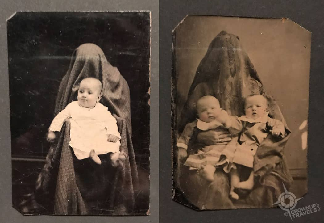 Hidden mothers from AGO photos