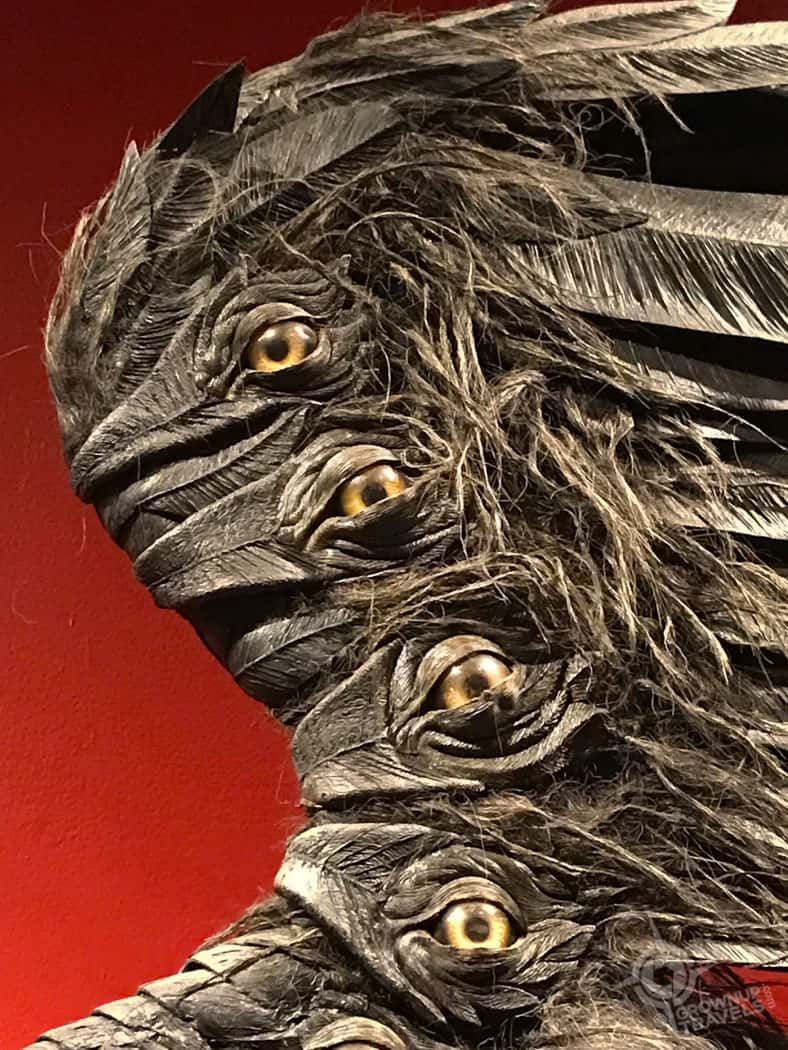 eyes in Angel of Death wings
