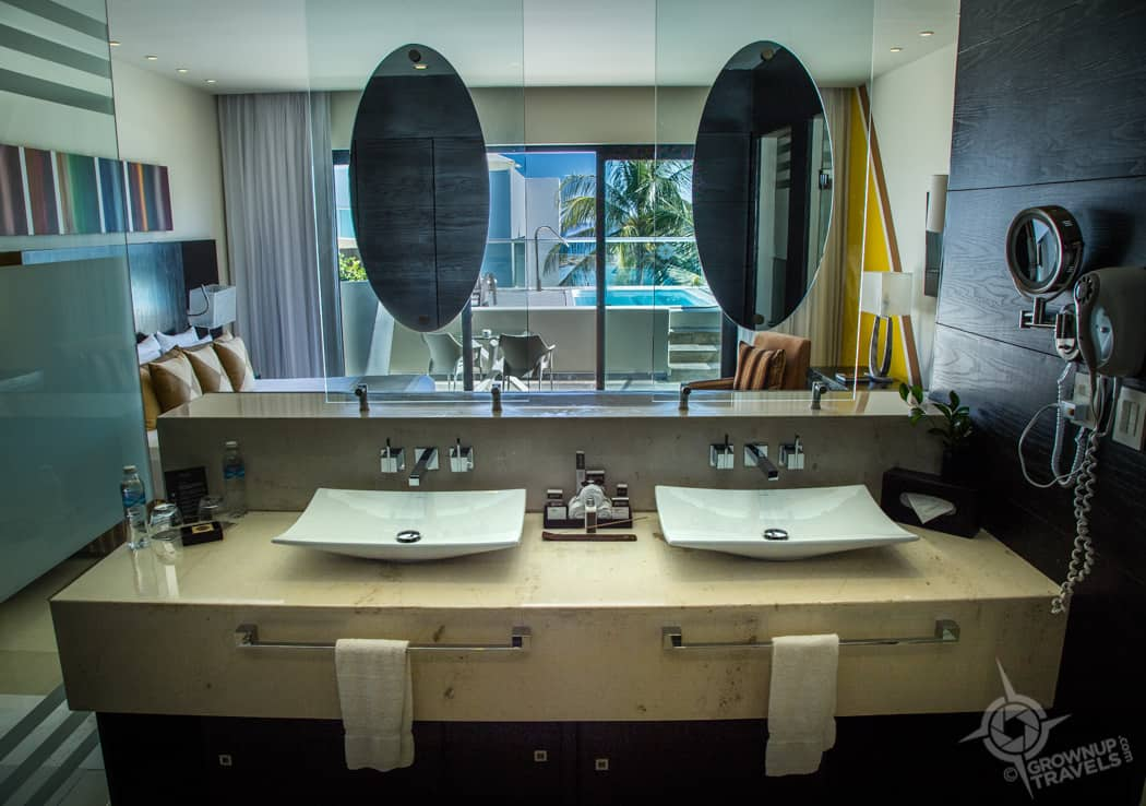 Double Sinks at Grand Oasis Tulum