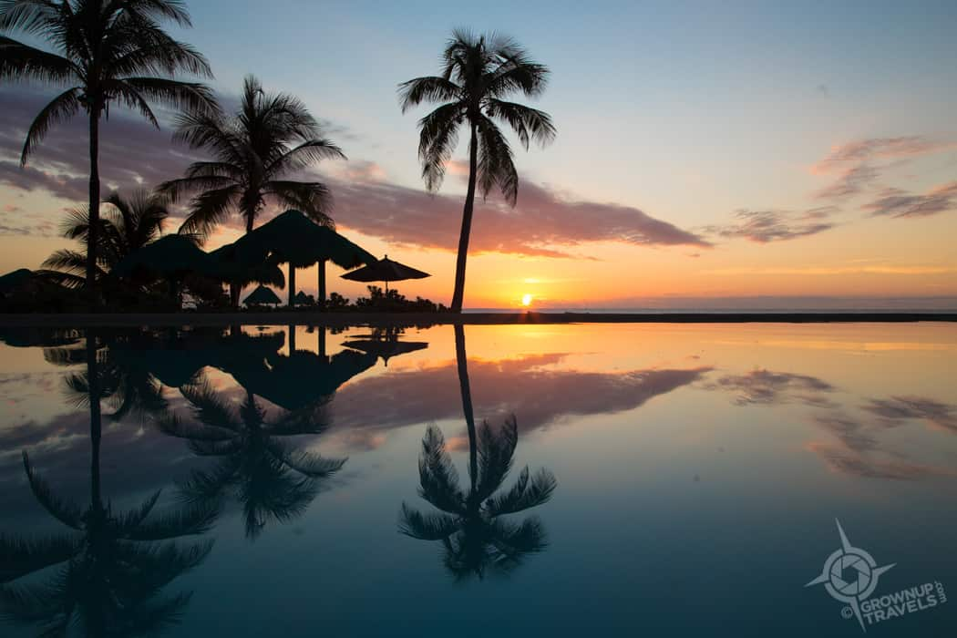 Sunrise at Grand Oasis Tulum