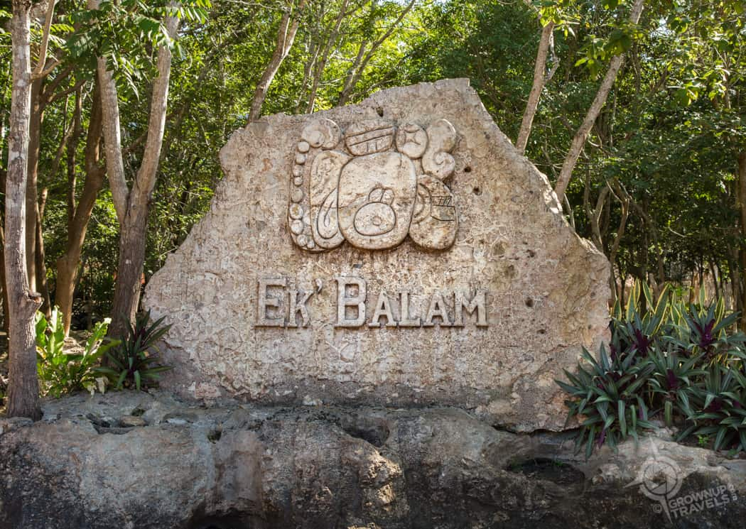 Ek' Balam Entrance
