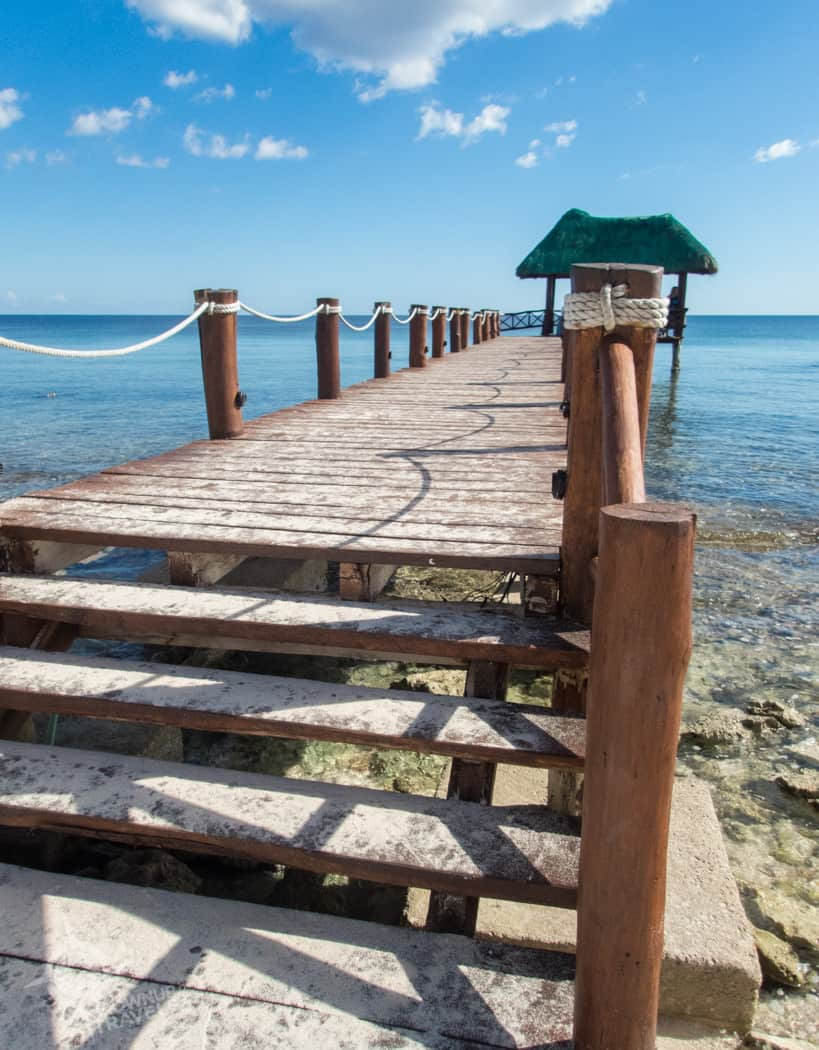 Grand Oasis Tulum private pier