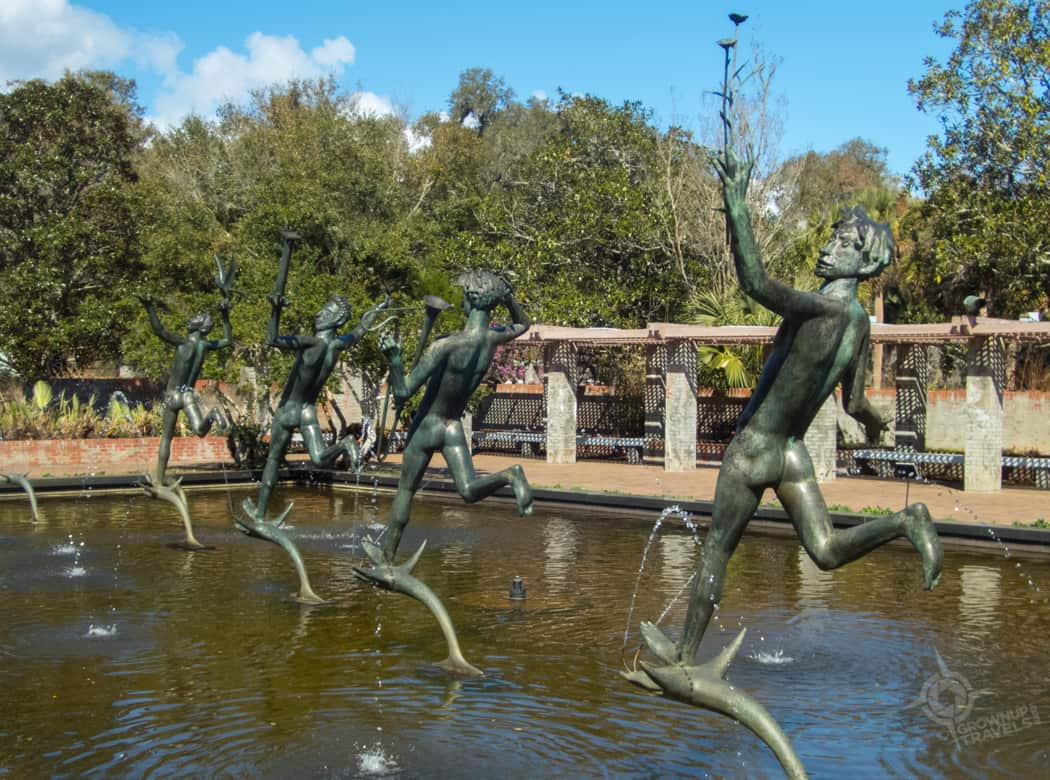 Fountain of the Muses by Carl Milles