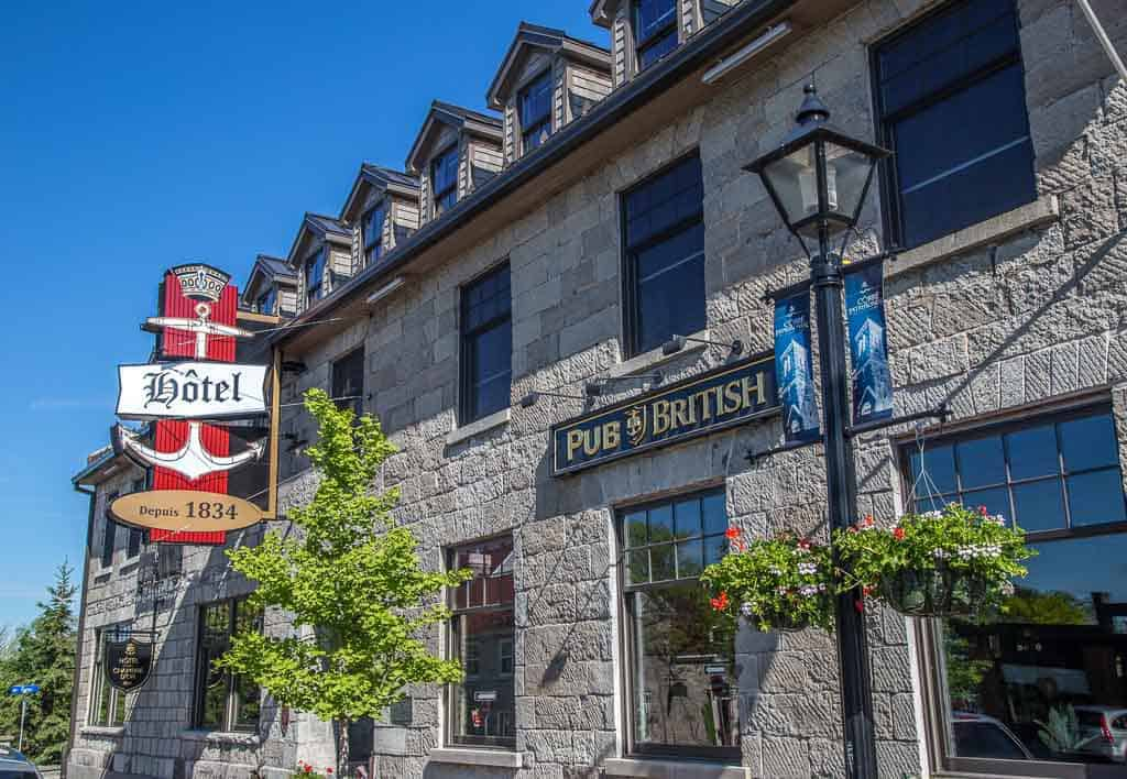 the British Hotel Aylmer Quebec