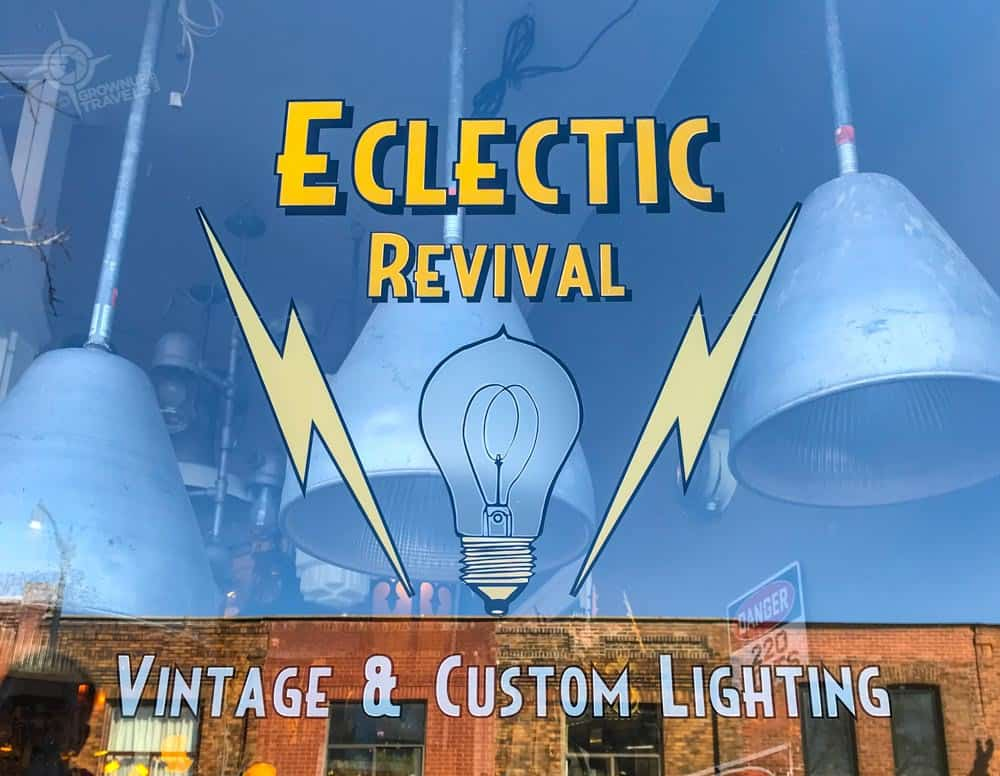 Eclectic Revival lighting store the Junction
