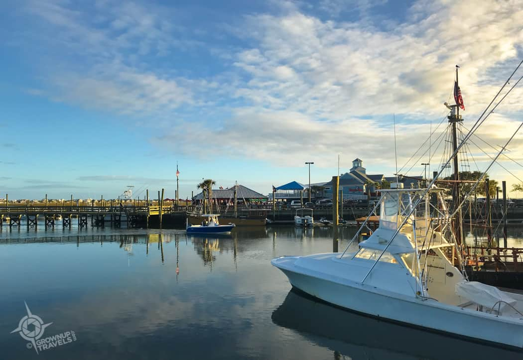 Murrells Inlet Fishing Boats
