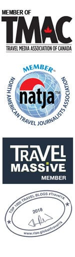 Grownup Travels Media badges 2018