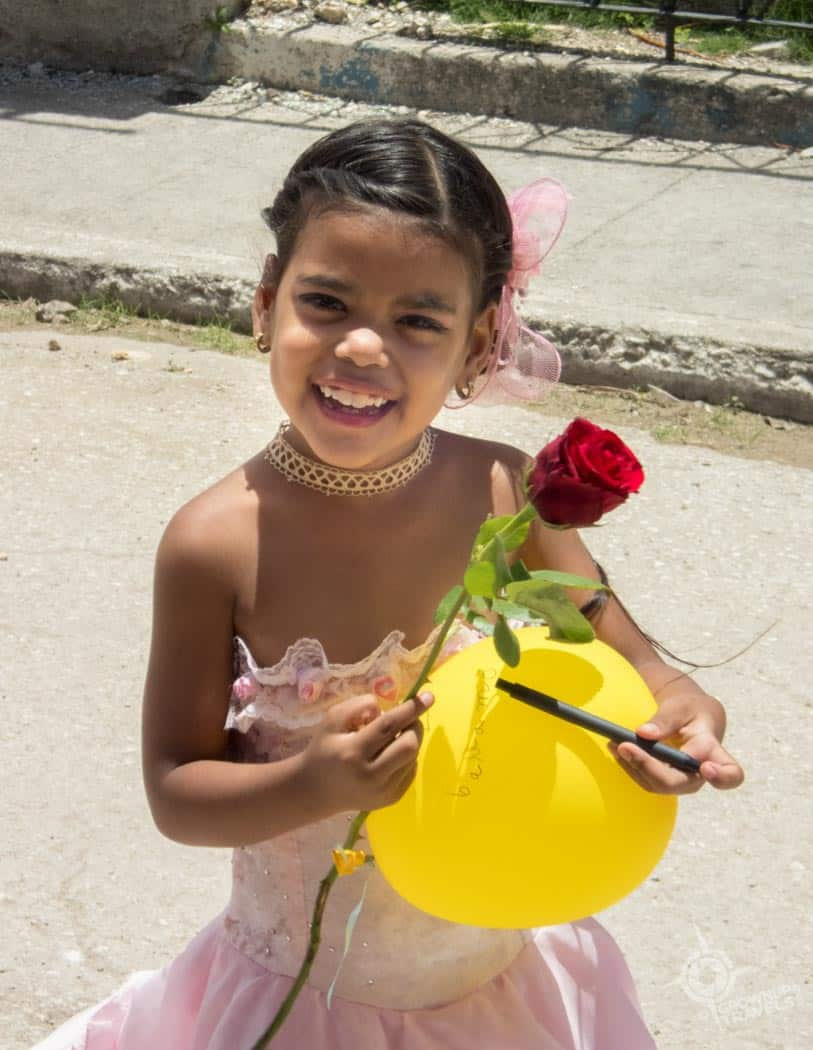 Sagua la grande little girl smiling
