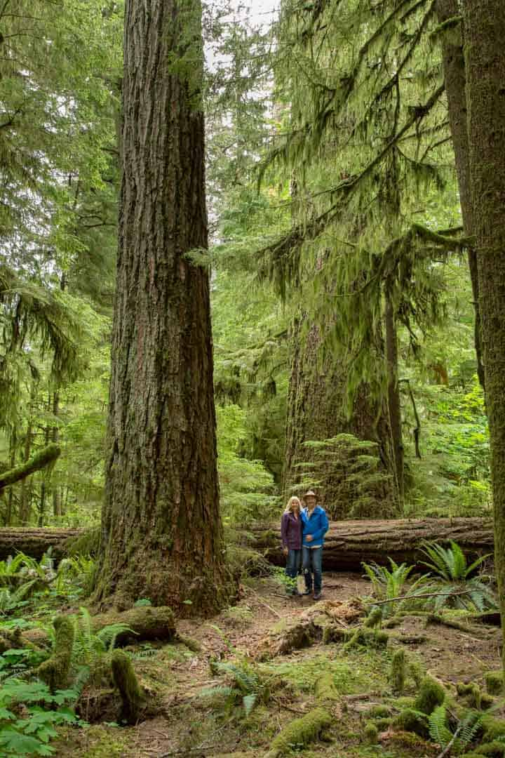 Jane & Henk Cathedral Grove