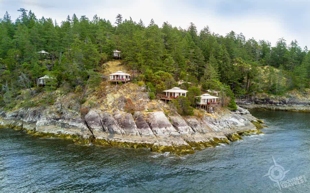 Rockwater Tenthouses seen from water