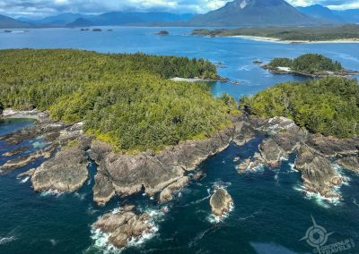 Clayoquot Sound Helicopter Tour view