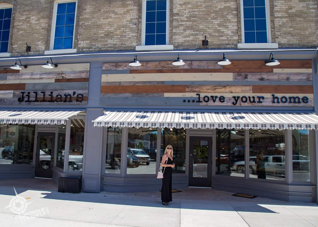 Jillian's exterior in Mitchell, Ontario