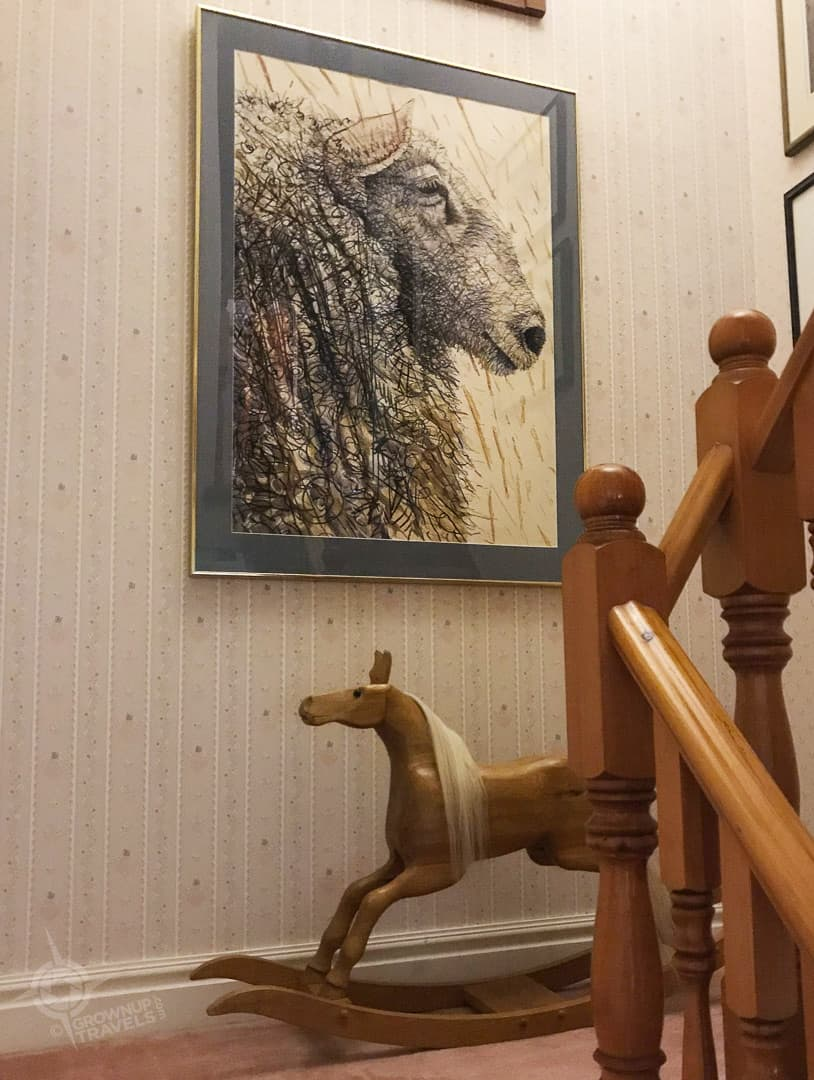 Transvaal Farm Guesthouse staircase