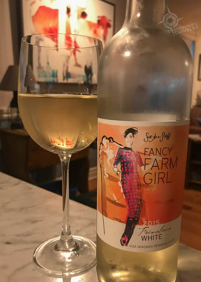 Fancy Farm Girl wine
