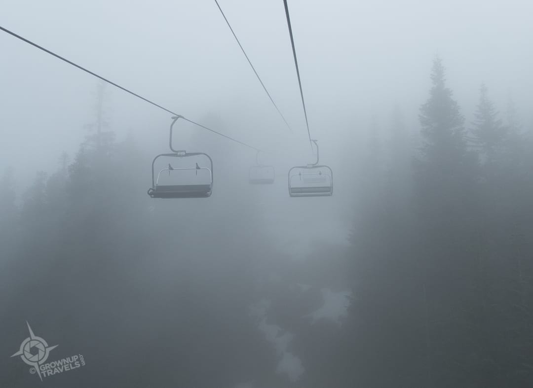 Peak Chairlift Grouse Mountain Vancouver