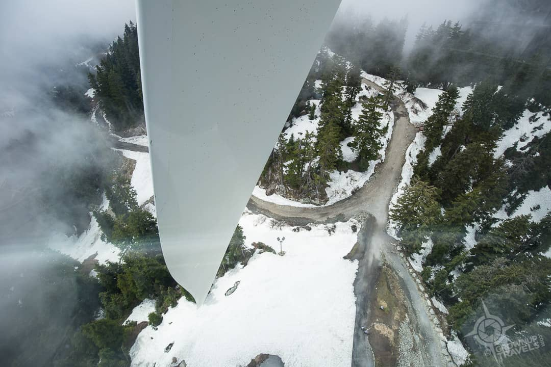 Eye of the Wind Blade seeing from observation pod