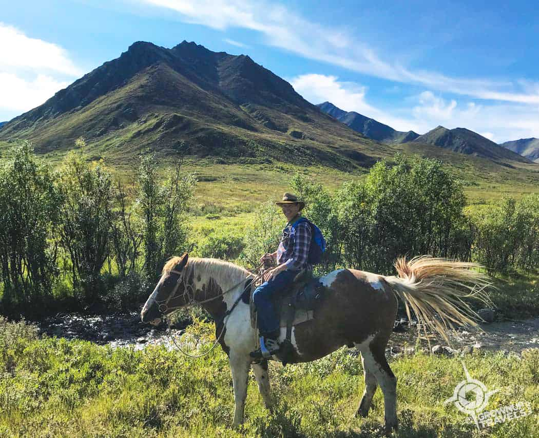Henk on horseback in Tombstone