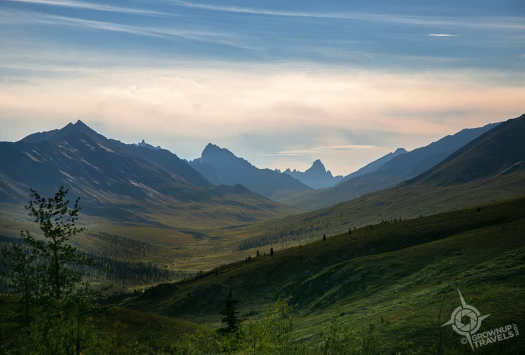 Tombstone Mountain view Yukon