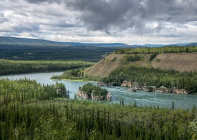 Five Finger Rapids overlook Yukon
