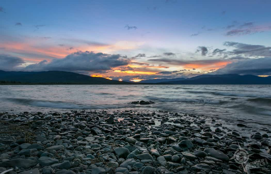Dezadeash Lake Sunset Yukon