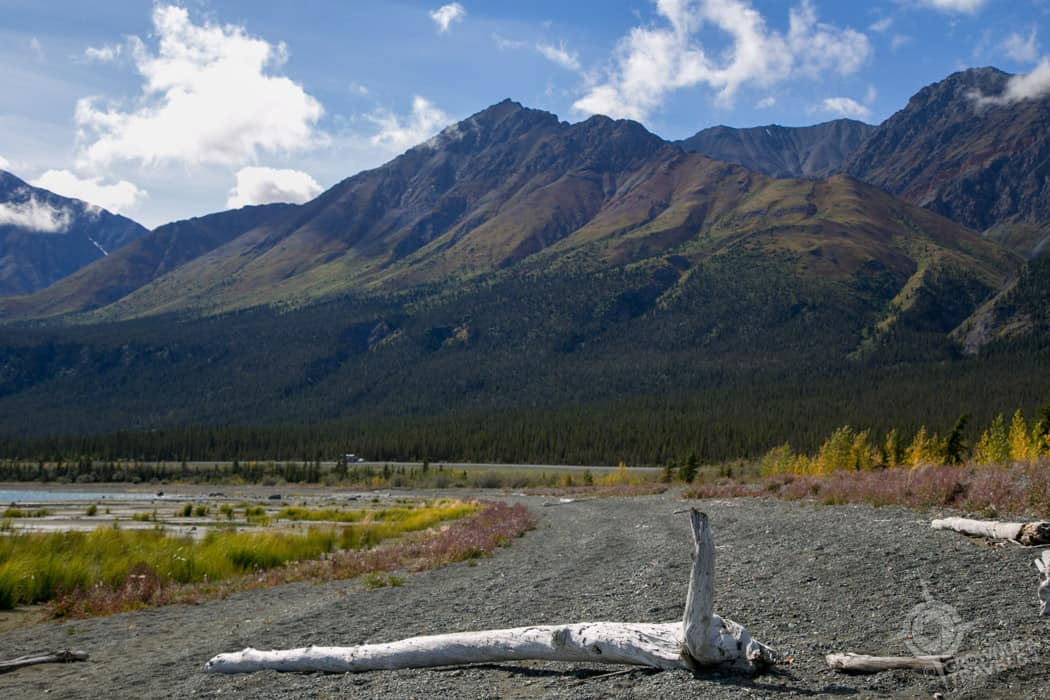 Beach near Sheep Mountain Yukon