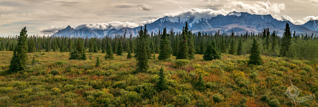 Mountains in Kluane Park