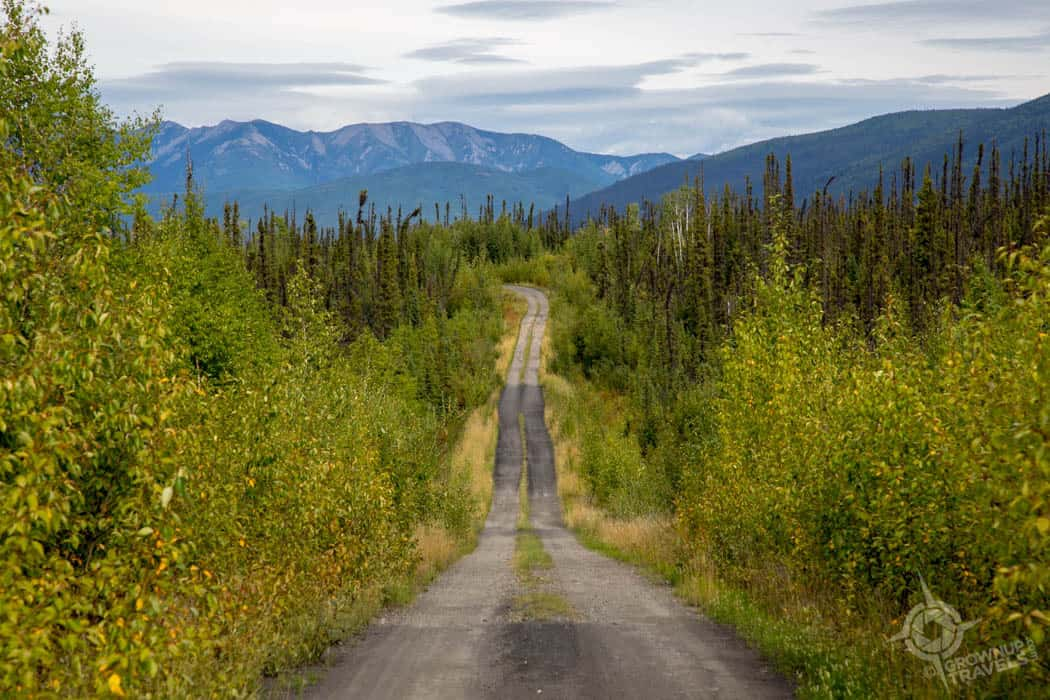 Forty Mile Road Top of the World Yukon