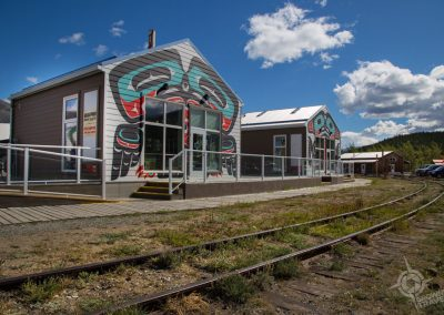 Carcross Commons Tracks Yukon