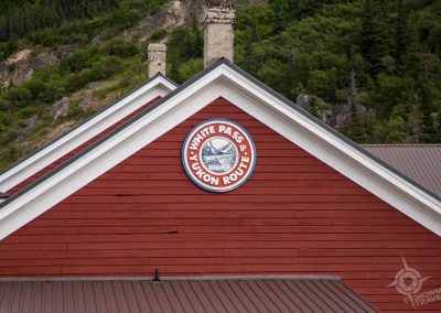 White Pass Train Station Yukon