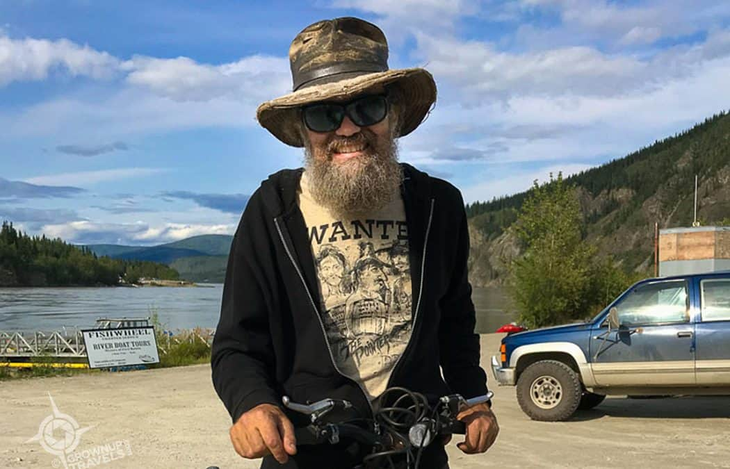 Encountering a Modern-Day Caveman in Dawson City, Yukon