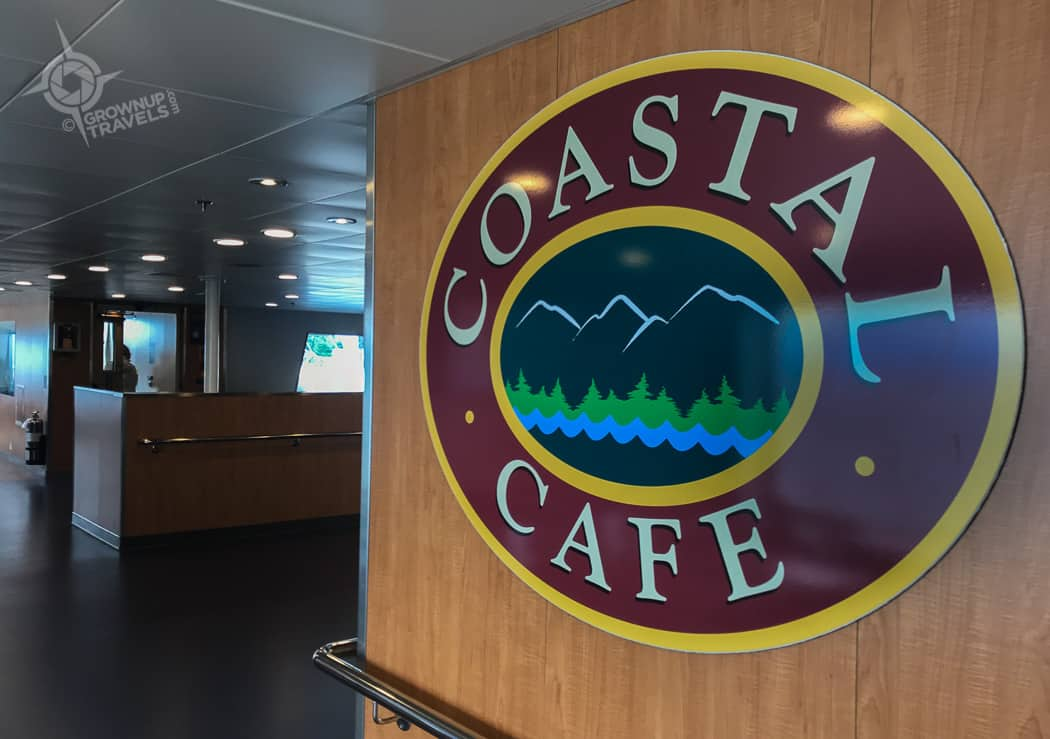 Coastal Cafe on board Salish Orca