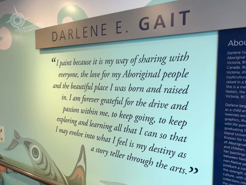 Darlene E. Gait Salish artist quote