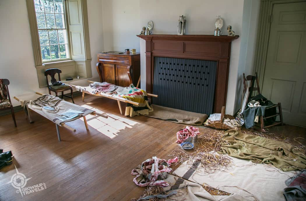 Parlour at Ben Lomond Historic Site