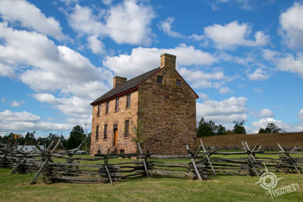 The Stone House Civil War Virginia