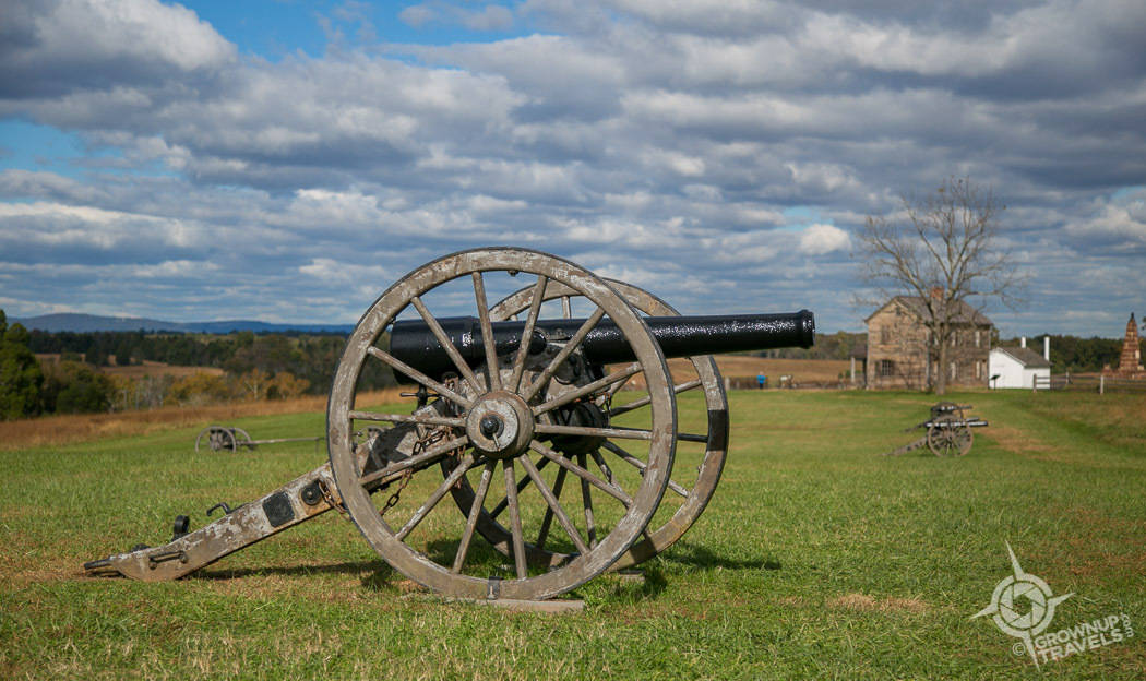 Cannon on Henry Hill Battle of Bull Run