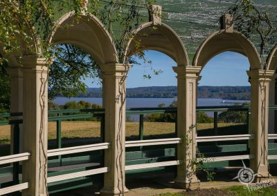 Arched Walkway at Mount Vernon Virginia