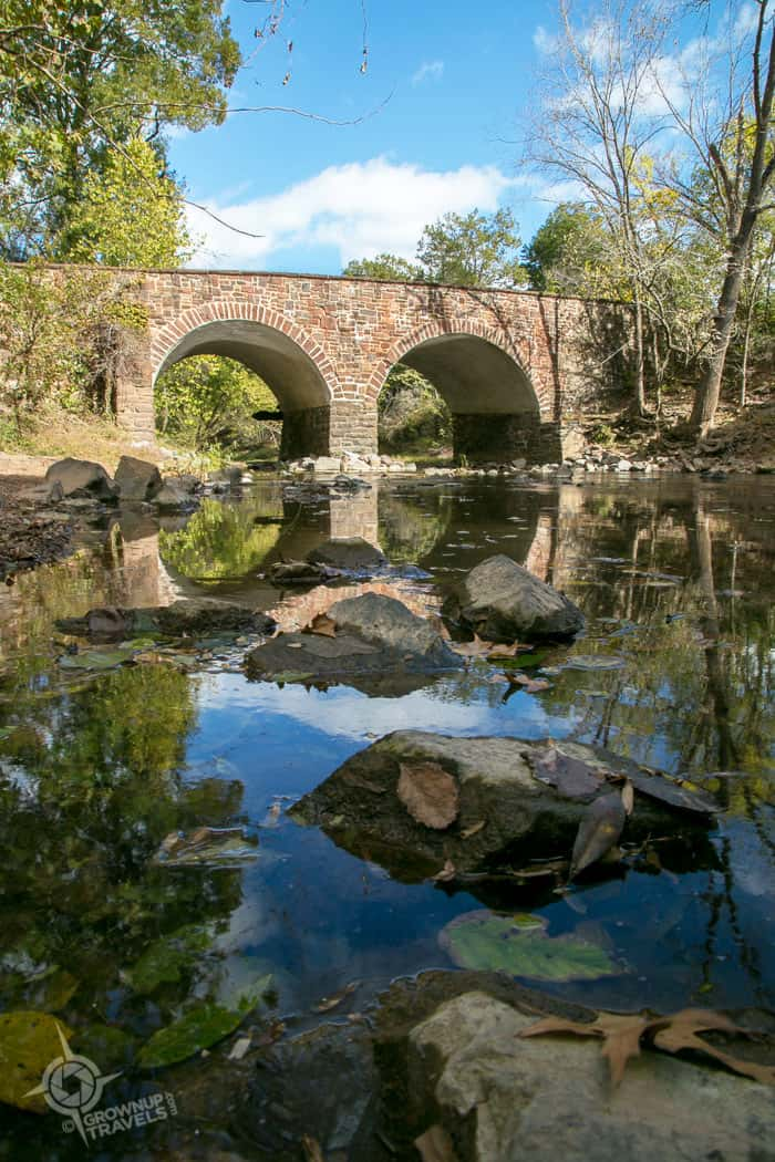 The Stone Bridge over Bull Run