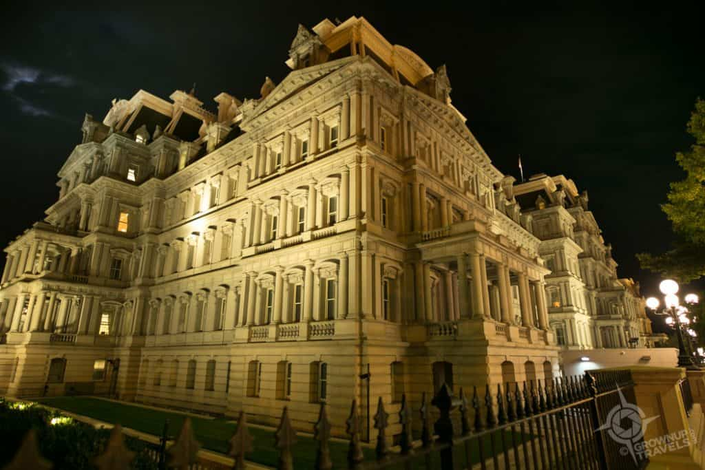 Eisenhower Executive Building Washington DC