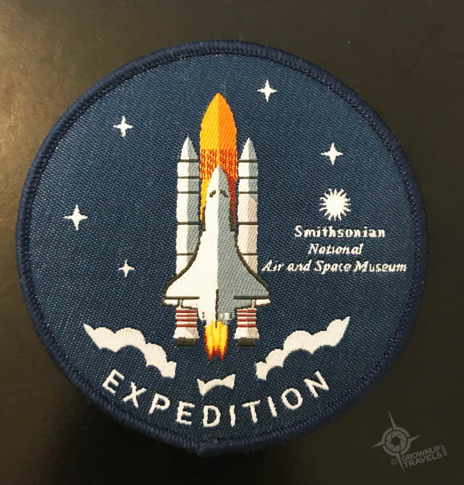 Expedition Badge Air and space museum Virginia