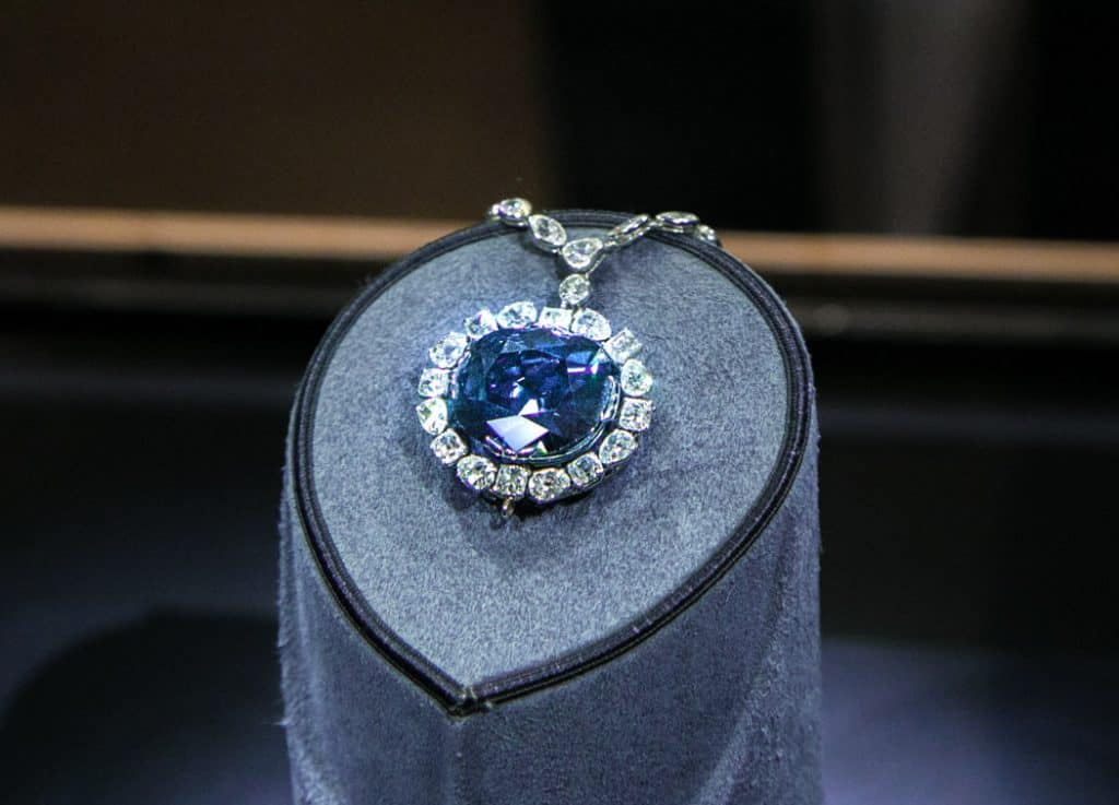 Hope Diamond Museum Natural History Washington