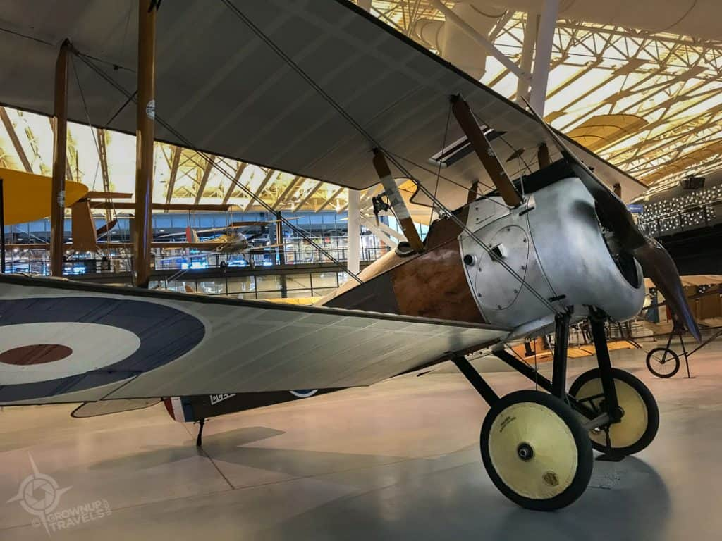 Sopwith Camel Airplane Air and Space museum Virginia
