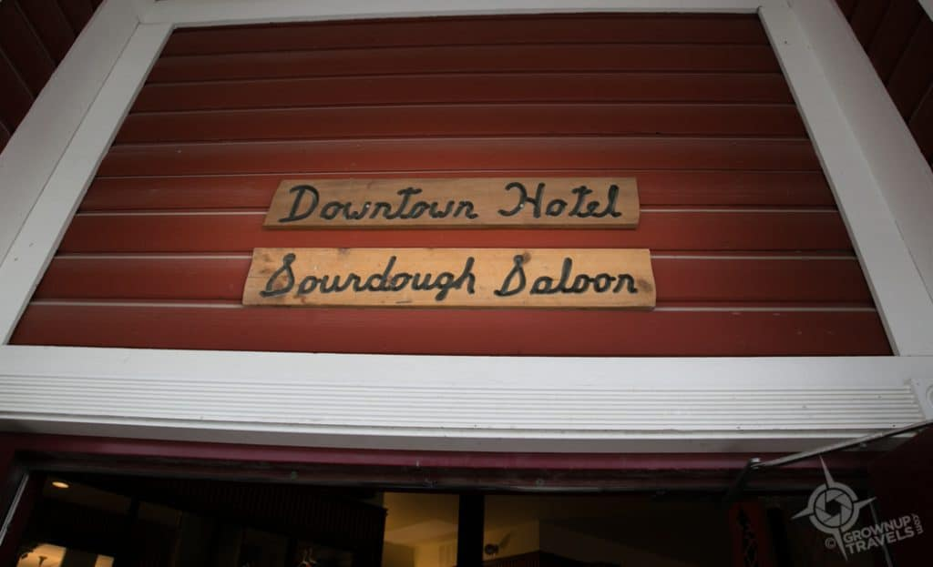 Sourdough Saloon at the Downtown Hotel Dawson City