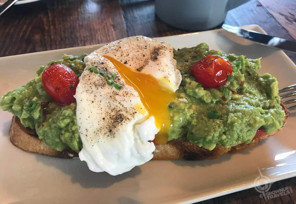 Avocado Toast Hotel Henry Buffalo