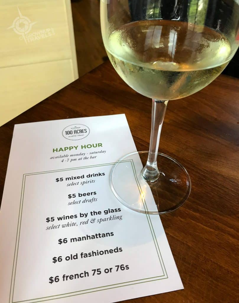 Hotel Henry Buffalo Happy Hour Menu